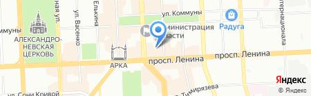 Нуга Бест на карте Челябинска