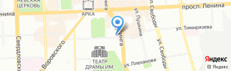 ПромЭлектрон на карте Челябинска