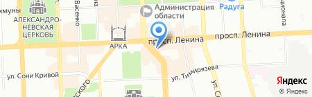 ВЕТИВ на карте Челябинска