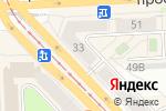 Схема проезда до компании Золотой в Челябинске