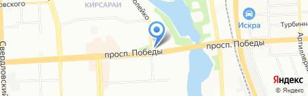 Союзстройпроект на карте Челябинска