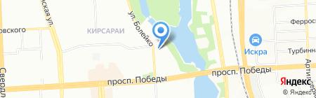 Челябинский Инструмент на карте Челябинска