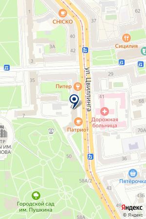 СТРОИТЕЛЬНАЯ ФИРМА ОКОННЫЕ ТЕХНОЛОГИИ на карте Челябинска