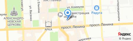 Детский сад №20 на карте Челябинска