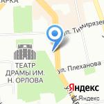 Банкомат на карте Челябинска
