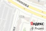 Схема проезда до компании Изомер в Челябинске