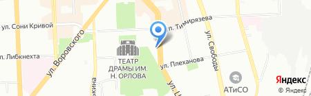 Елена и партнеры на карте Челябинска