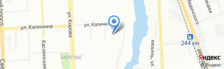 Детский дом №5 на карте Челябинска