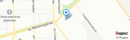 Авалайн на карте Челябинска