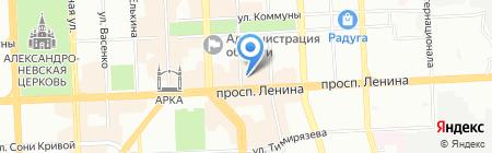 Персона на карте Челябинска