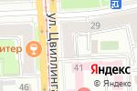 Схема проезда до компании Sigma в Челябинске