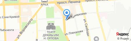 H.club на карте Челябинска