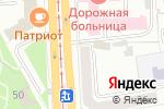Схема проезда до компании Кладовая Здоровья в Челябинске