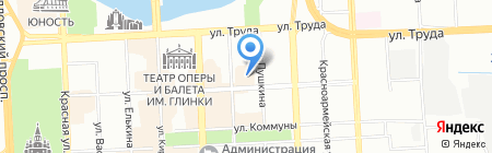 КапиталПласт на карте Челябинска