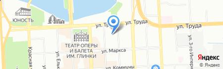 Синагога на карте Челябинска