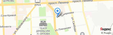Идеал-М на карте Челябинска