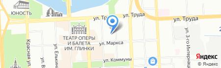 Пакт-Мед Сервис на карте Челябинска