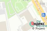 Схема проезда до компании Уральский малахит в Челябинске