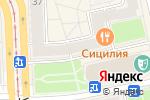 Схема проезда до компании Сицилия в Челябинске
