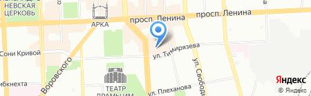 Вокруг света на карте Челябинска