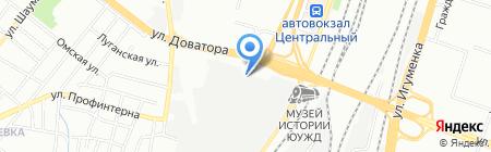 Профстяжка Александра Луканина на карте Челябинска