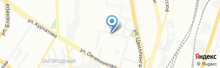 КРБ и Ко на карте Челябинска