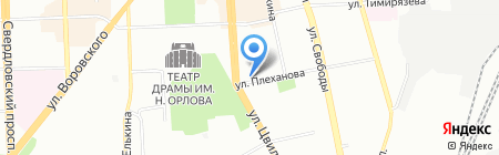 РоссТур на карте Челябинска