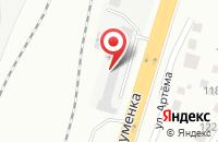 Схема проезда до компании Паритет-Авто в Челябинске