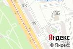 Схема проезда до компании Юркон в Челябинске
