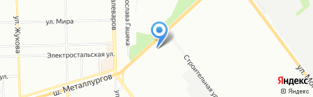 Эдвард на карте Челябинска