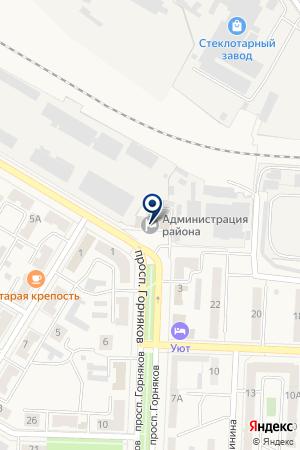 АДМИНИСТРАЦИЯ КОРКИНСКОГО МУНИЦИПАЛЬНОГО РАЙОНА на карте Коркино