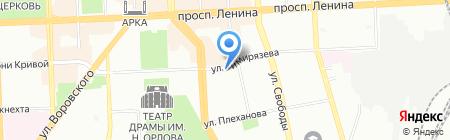 Спецмаш на карте Челябинска