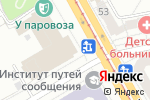 Схема проезда до компании Городские зрелищные кассы в Челябинске