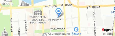 Промснаб на карте Челябинска