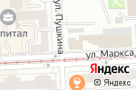 Схема проезда до компании Промснаб, ЗАО в Челябинске
