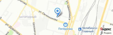 ДОРОЖНАЯ СТОМАТОЛОГИЯ на карте Челябинска