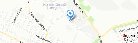 Евро-Олимп на карте Челябинска