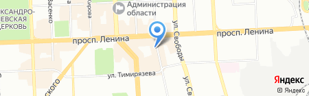 Биолаж на карте Челябинска