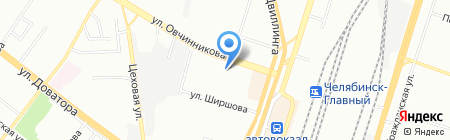 Мясная душа на карте Челябинска