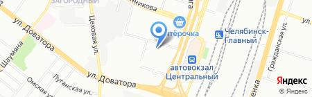 Челябинский центр правовых услуг на карте Челябинска