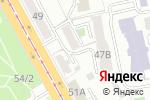 Схема проезда до компании Академия VIP в Челябинске