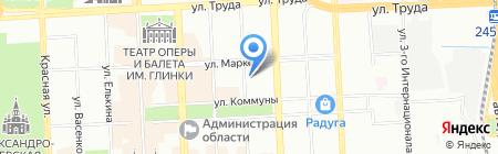 JNS на карте Челябинска