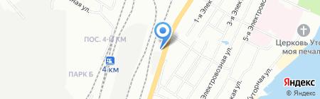 OMNIPORT на карте Челябинска