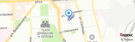 Отдел надзорной деятельности №13 на карте Челябинска