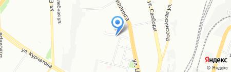 Ромео на карте Челябинска