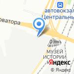 Советник на карте Челябинска