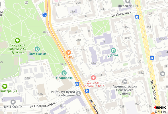 жилой комплекс ул. Цвиллинга 47В