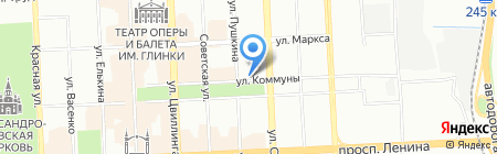 ВоротаМикс на карте Челябинска
