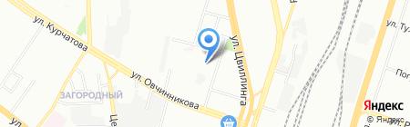 ЮЖУРАЛЖАСО на карте Челябинска