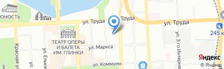 Свобода на карте Челябинска
